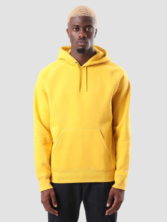 Carhartt WIP Chase Hoodie Quince Gold I026384-62290