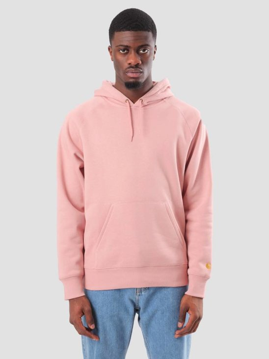 Carhartt Chase Hoodie Soft Rose Gold I024653-84190