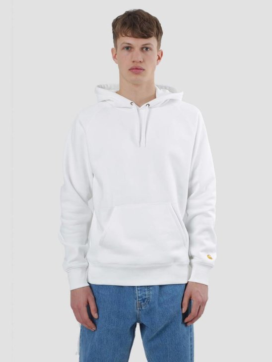 Carhartt Chase Hoodie White Gold I024653-290