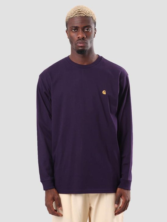Carhartt Chase Longsleeve Lakers Gold I026392-88990