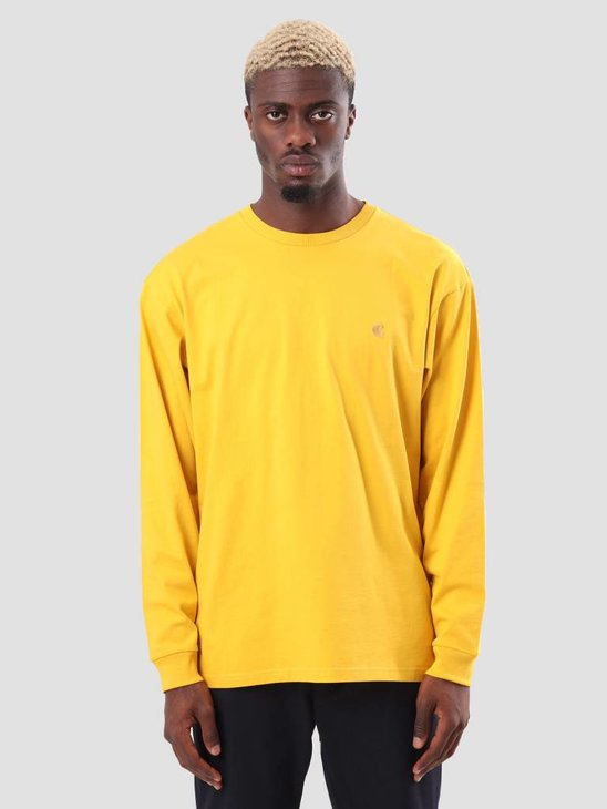 Carhartt Chase Longsleeve Quince Gold I026392-62290