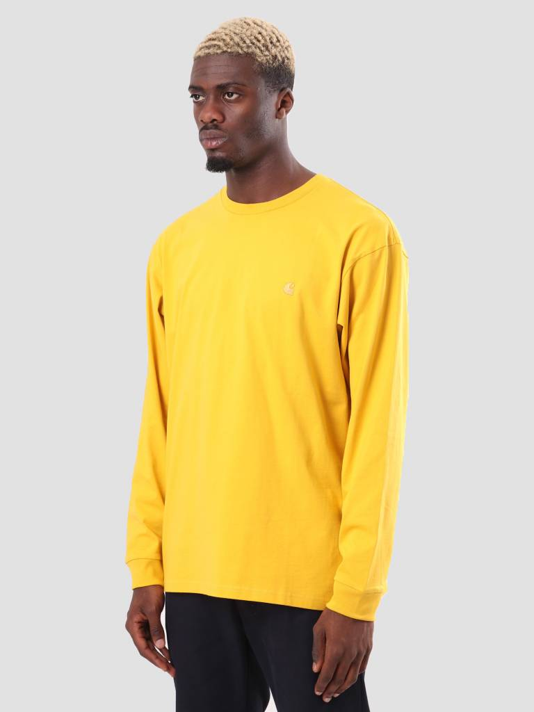 Carhartt WIP Carhartt WIP Chase Longsleeve Quince Gold I026392-62290