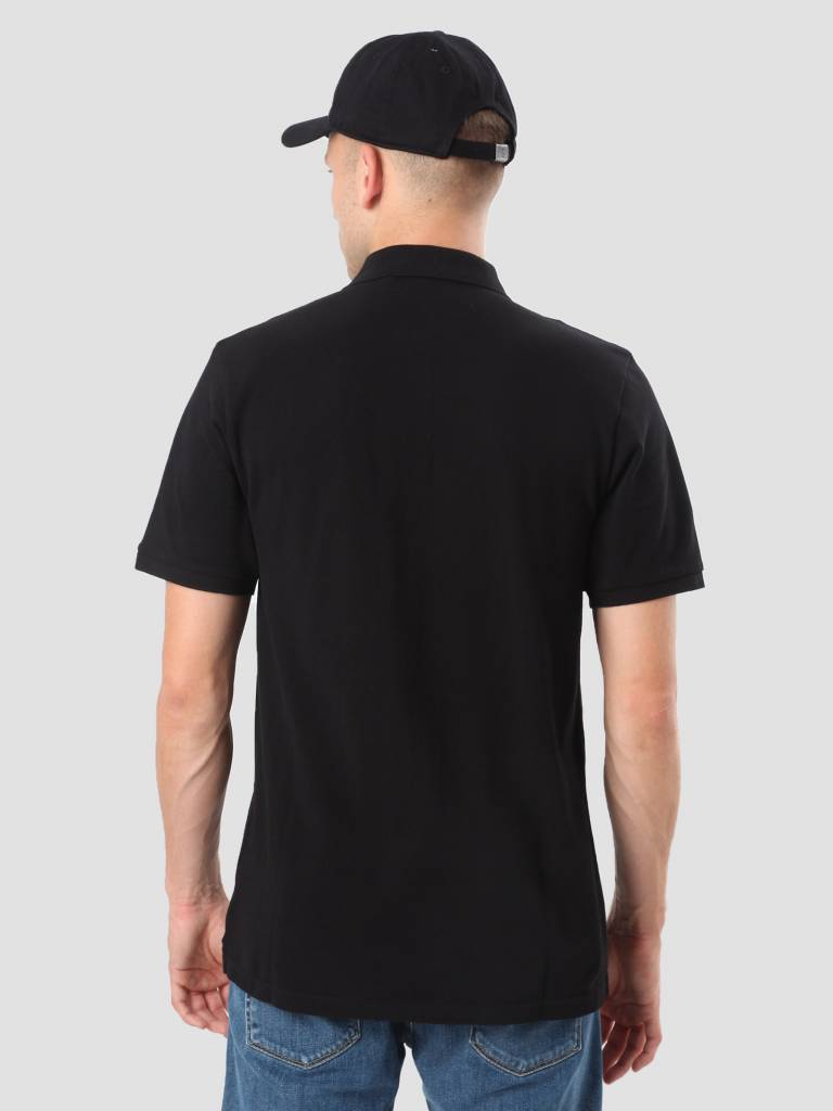 Carhartt WIP Carhartt WIP Chase Pique Polo Black Gold I023807