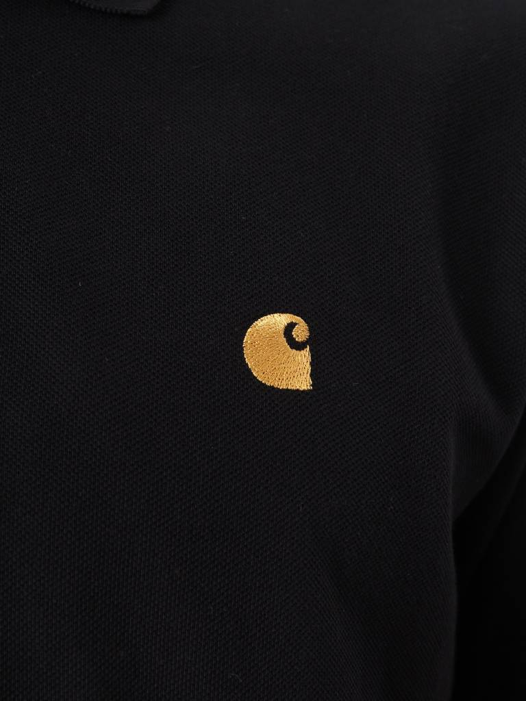 Carhartt Carhartt Chase Pique Polo Black Gold I023807
