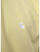 Carhartt WIP Carhartt WIP Chase Pique Polo Lion White I022937