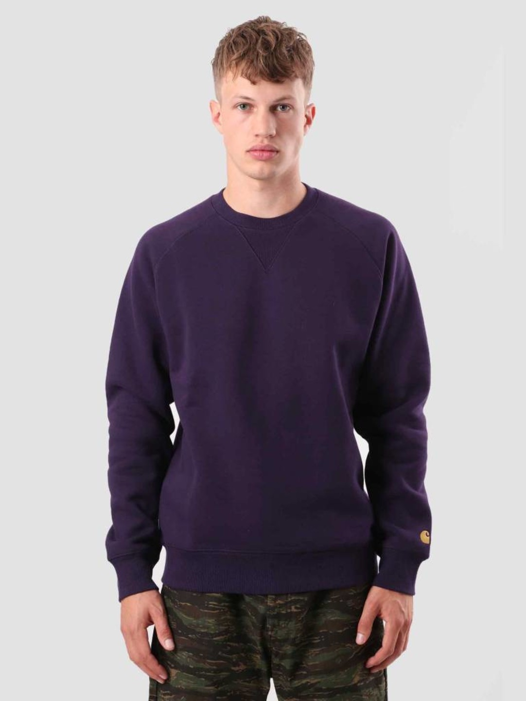 Carhartt WIP Carhartt WIP Chase Sweat Lakers Gold I026383-88990
