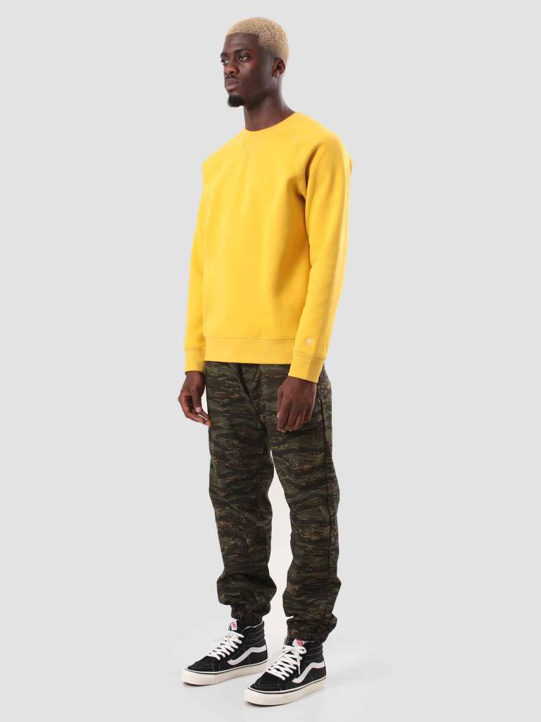 Carhartt WIP Carhartt WIP Chase Sweat Quince Gold I026383-62290