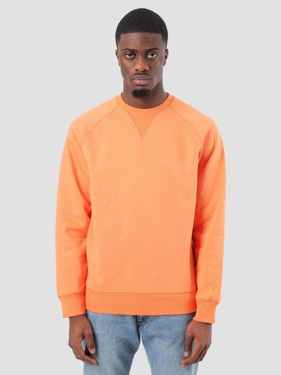 Carhartt WIP Chase Sweater Jaffa Gold I024652-96390