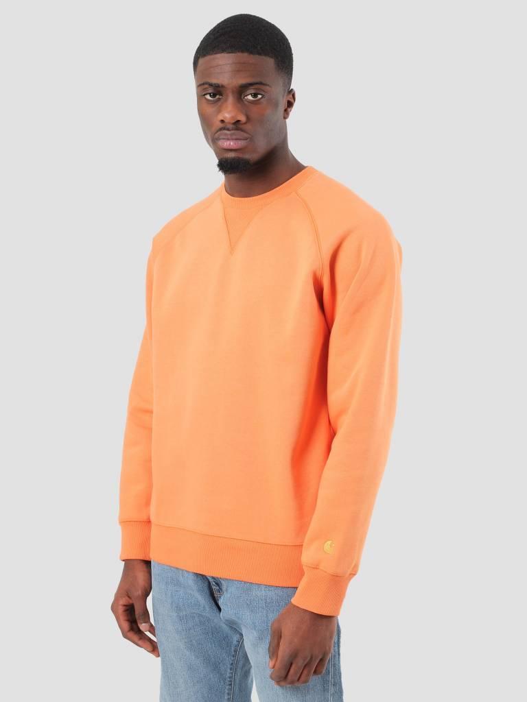 Carhartt WIP Carhartt WIP Chase Sweater Jaffa Gold I024652-96390