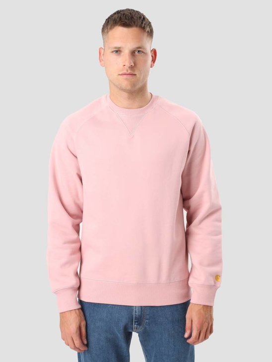 Carhartt Chase Sweater Soft Rose Gold I015896