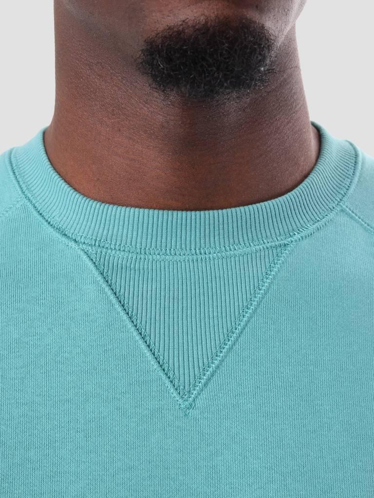 Carhartt WIP Carhartt WIP Chase Sweater Soft Teal Gold I024652-715