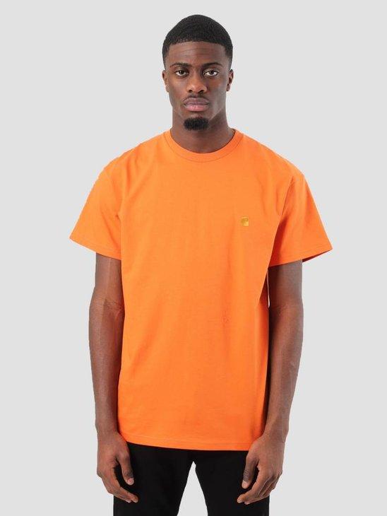 Carhartt Chase T-Shirt Jaffa Gold I021949-96390