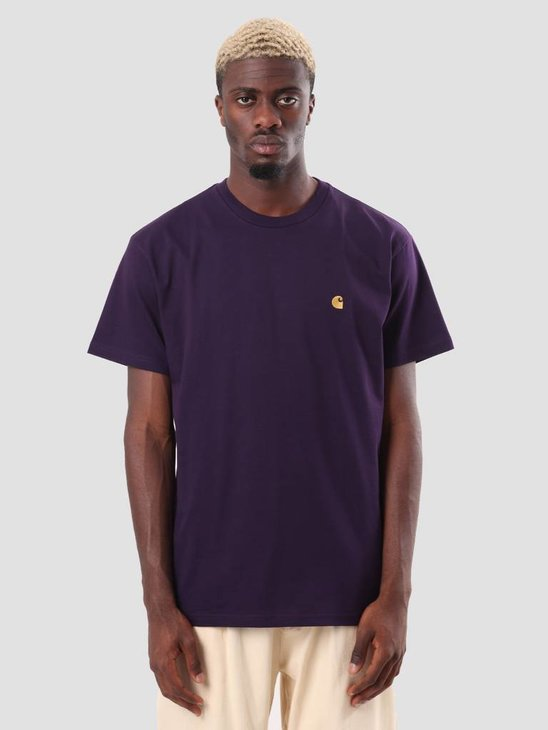 Carhartt WIP Chase T-Shirt Lakers Gold I026391-88990