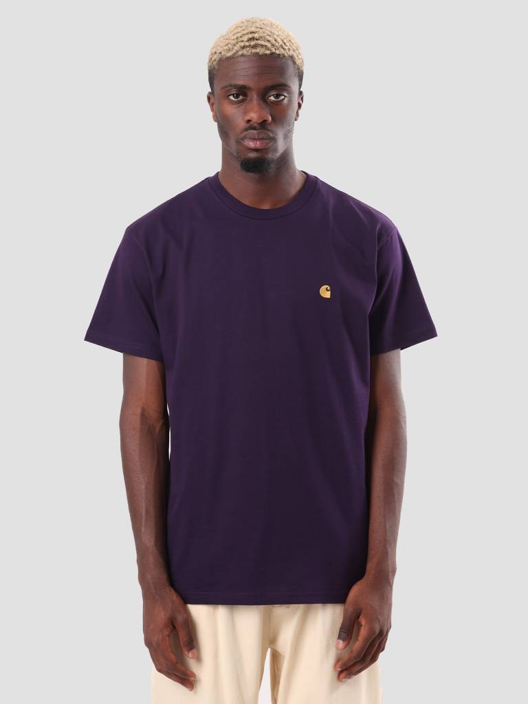 Carhartt WIP Carhartt WIP Chase T-Shirt Lakers Gold I026391-88990