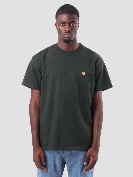 Carhartt Chase T-Shirt Loden Gold I026391-88590