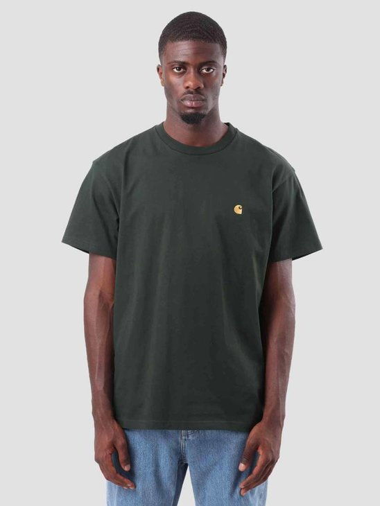 Carhartt WIP Chase T-Shirt Loden Gold I026391-88590