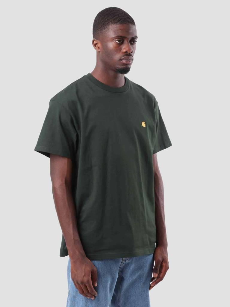Carhartt WIP Carhartt WIP Chase T-Shirt Loden Gold I026391-88590