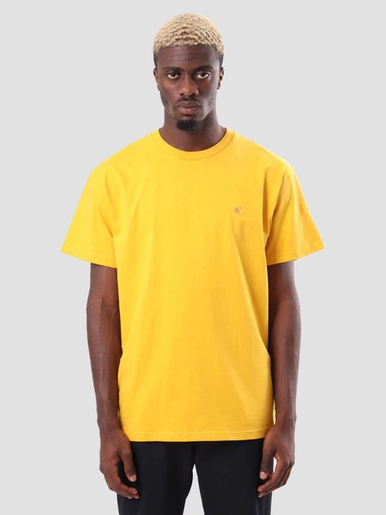 Carhartt WIP Chase T-Shirt Quince Gold I026391-62290