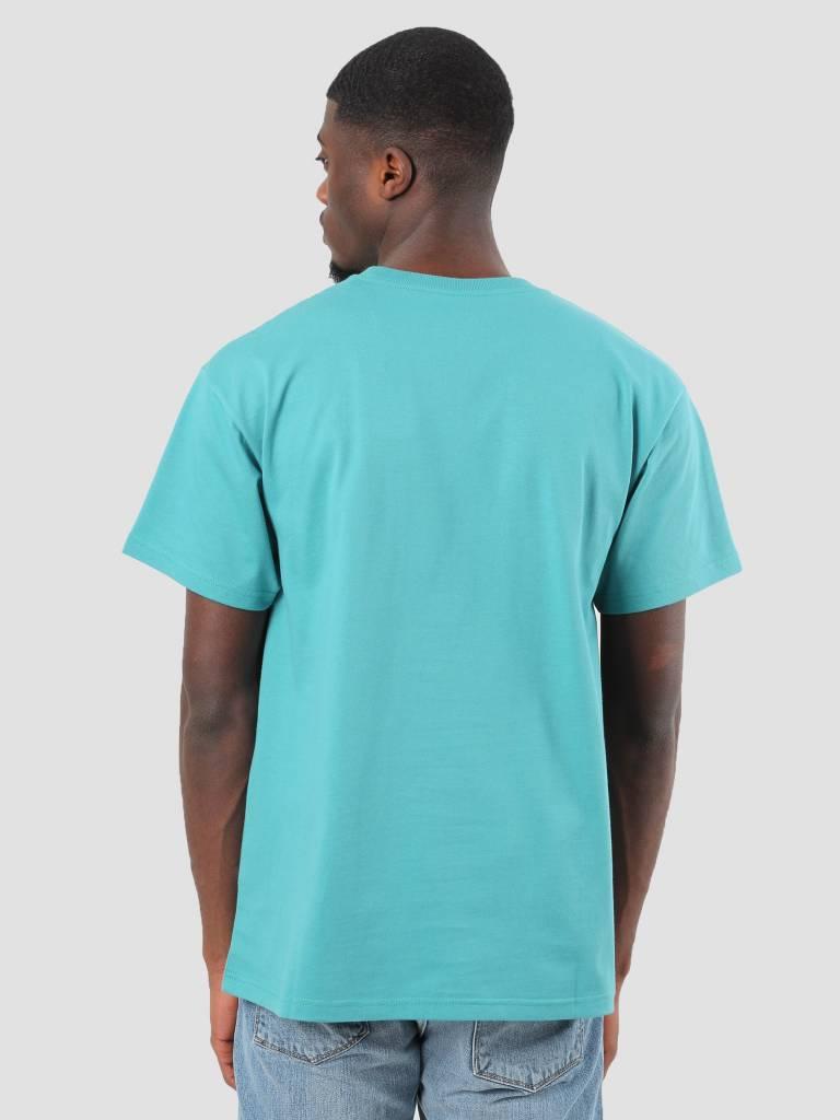 Carhartt Carhartt Chase T-Shirt Soft Teal Gold I021949-71500