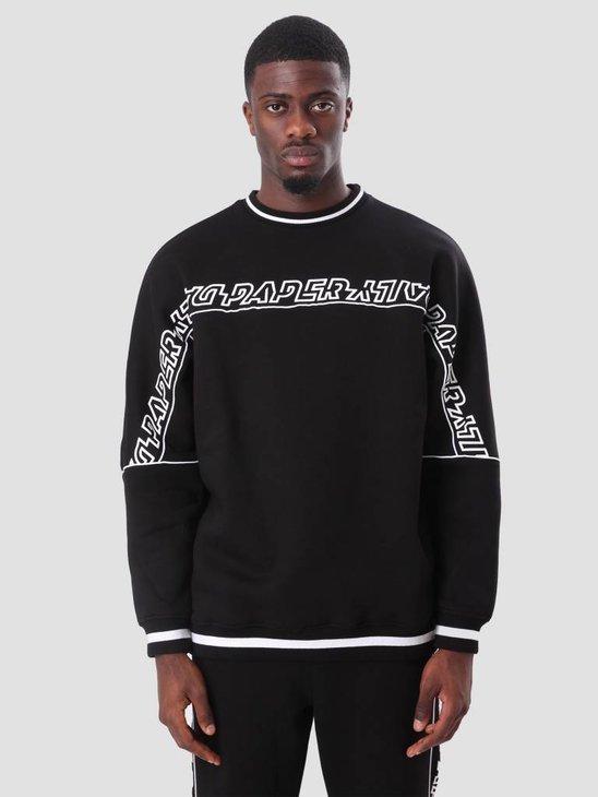 Daily Paper Chila Sweater Black ESS18SW01