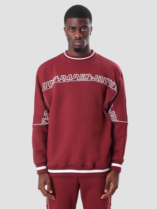 Daily Paper Chila Sweater Bordeaux ESS18SW02