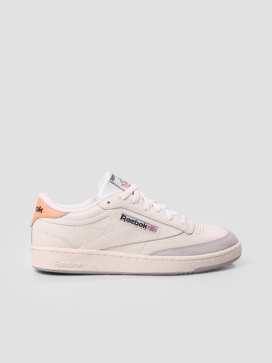 Reebok Club C 85 FT Chalk Sunbaked Orange BS9749