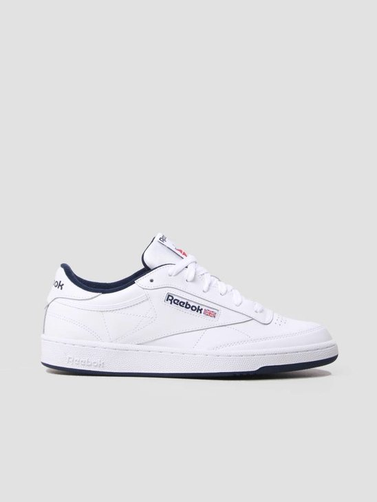 Reebok Club C 85 White Navy AR0457