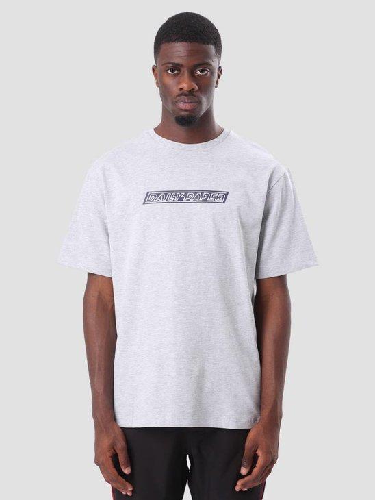 Daily Paper Codal T-shirt Grey Melange ESS18TS03