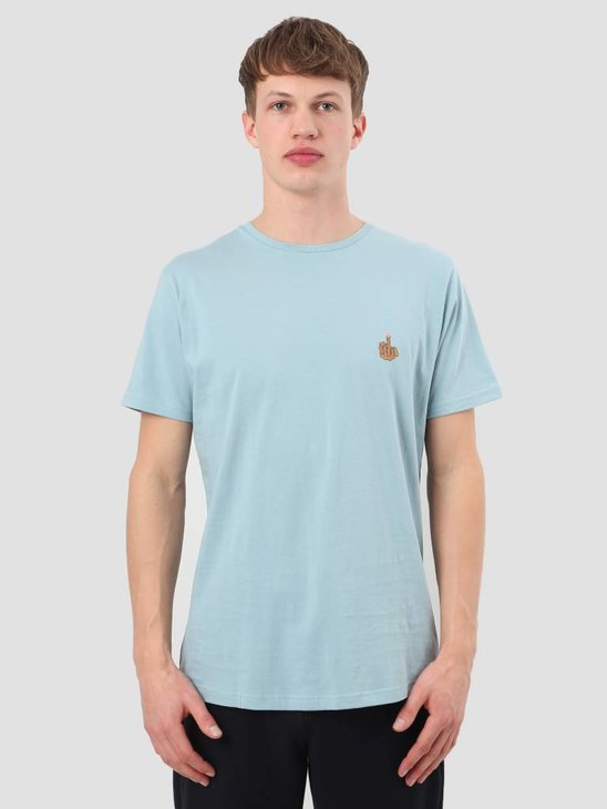 RVLT Cork T-Shirt Light Blue 1919 Red
