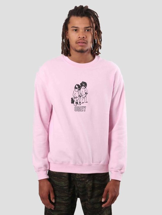 Obey Curious Kiddos Fleece Light Pink 114981821