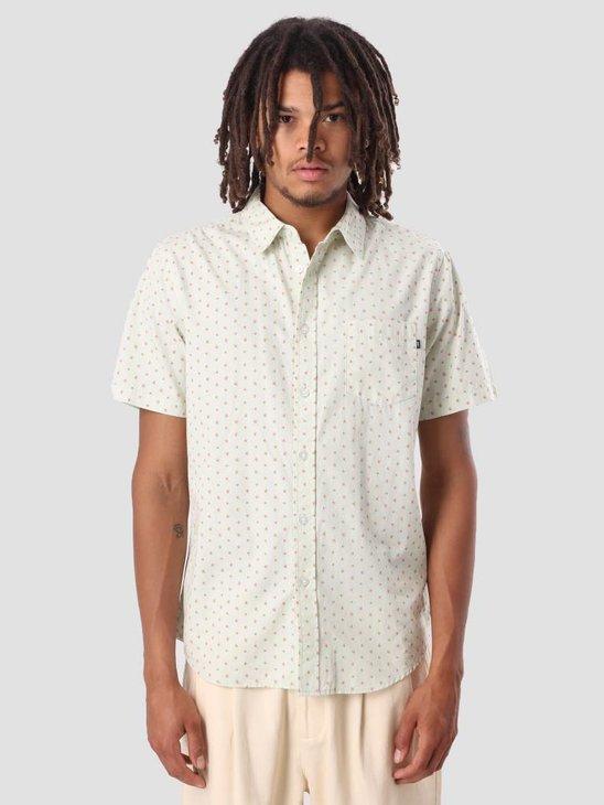 Obey Dante Woven Shirt Seafoam Multi 181210201