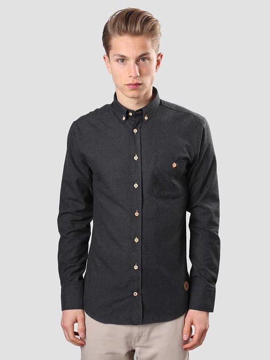 Kronstadt Dean Shirt 07A Plain Black 20404-K001