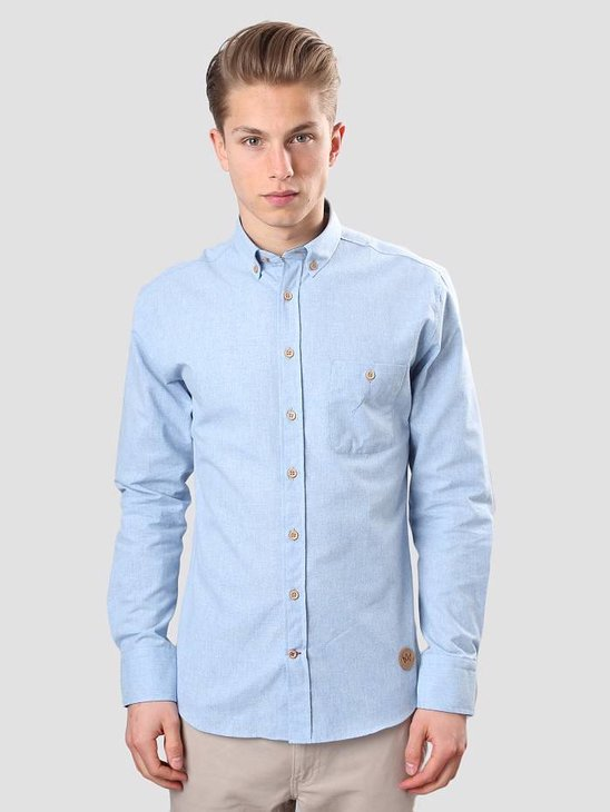 Kronstadt Dean Shirt 08A Plain Light Blue 20405-K009