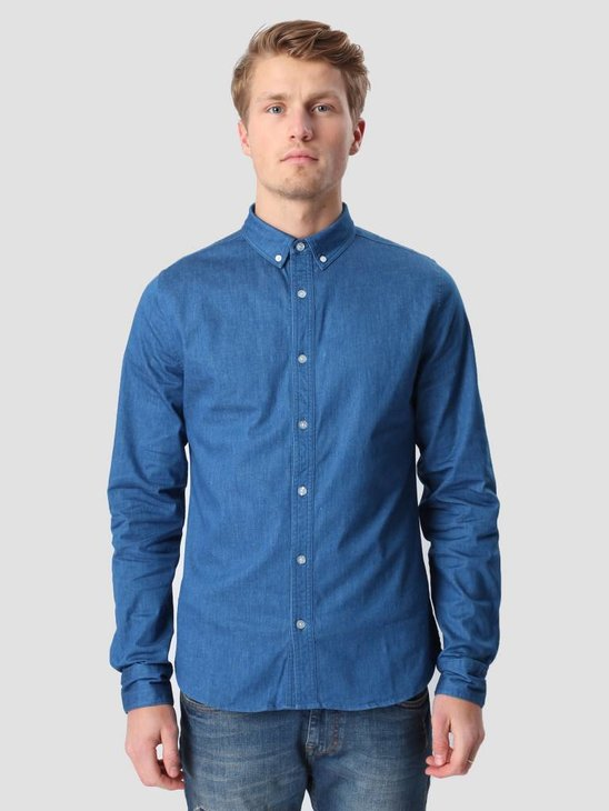 RVLT Denim Shirt  Blue 3002