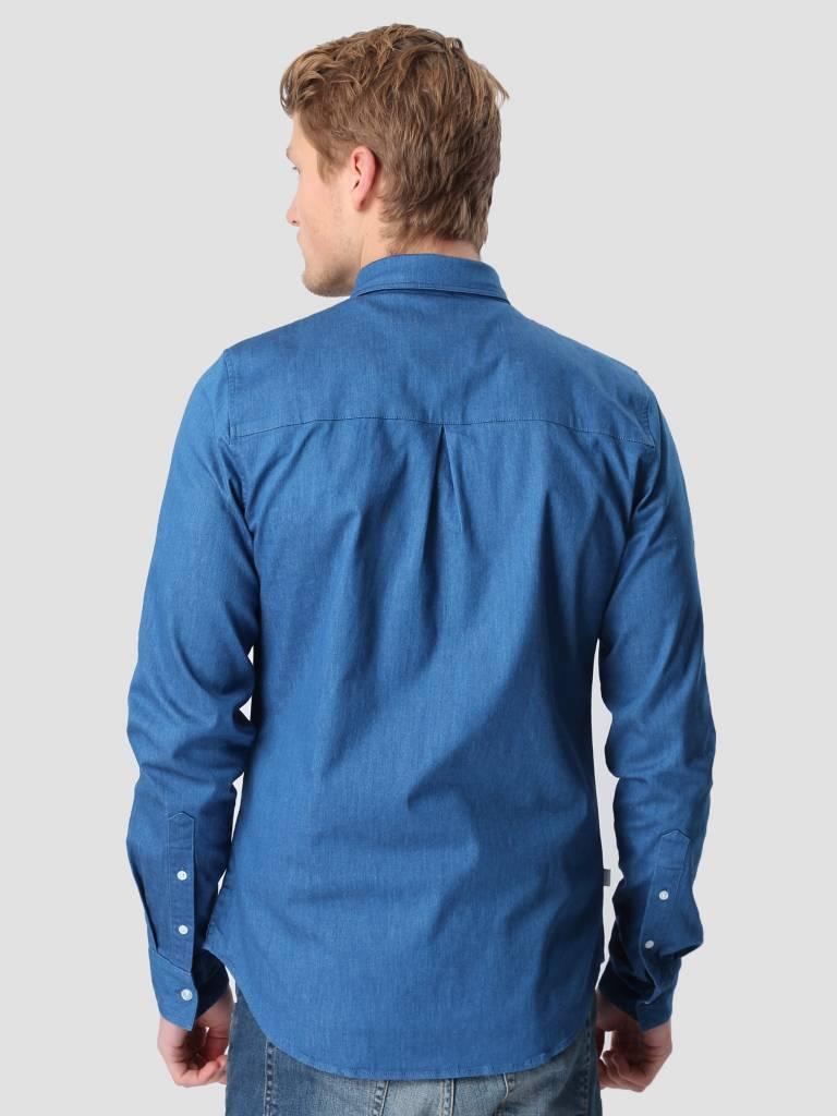 RVLT RVLT Denim Shirt  Blue 3002