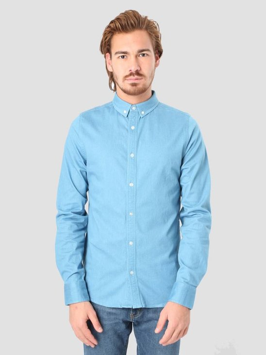 RVLT Denim Shirt  Light Blue 3002