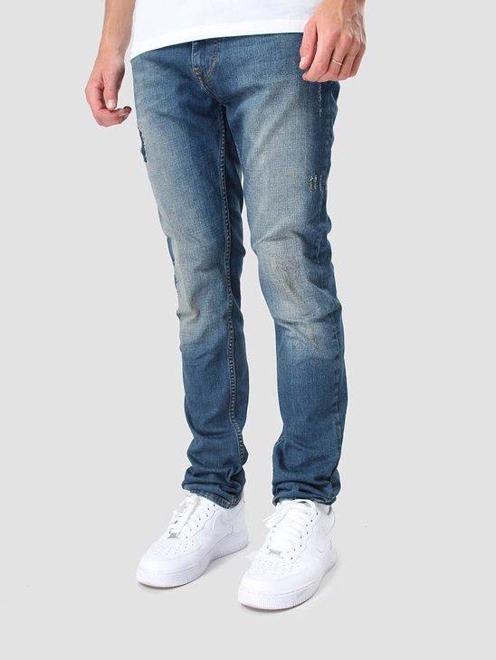 RVLT Destroy Denim Skinny Jeans 5005