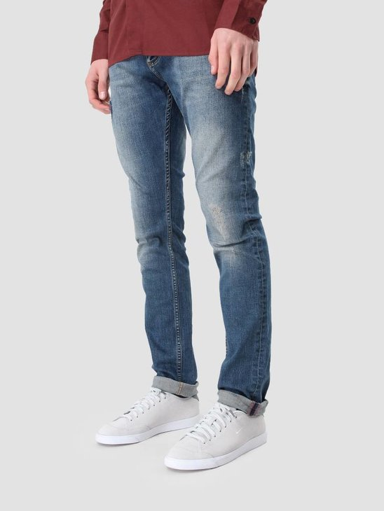 RVLT Destroy Denim Slim Blue 5105