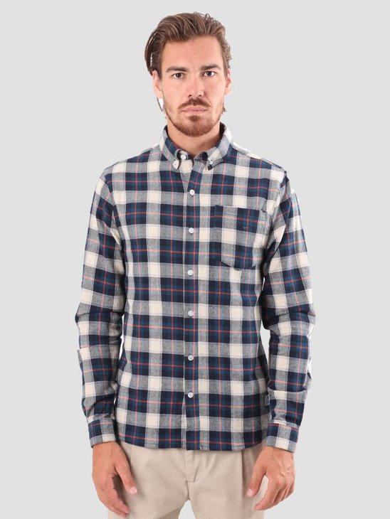 RVLT Dirch Shirt Blue 3635