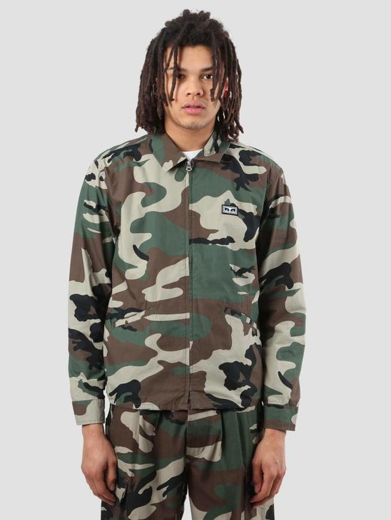 Obey Driver Jacket Field Camo 121800316