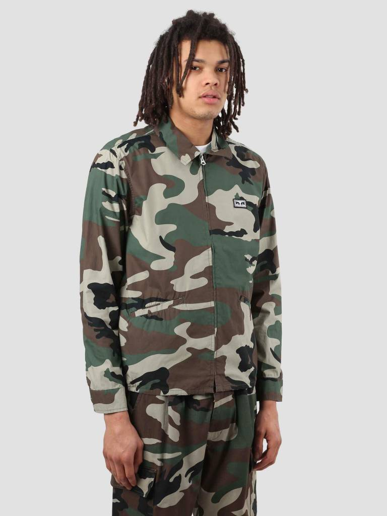 Obey Obey Driver Jacket Field Camo 121800316