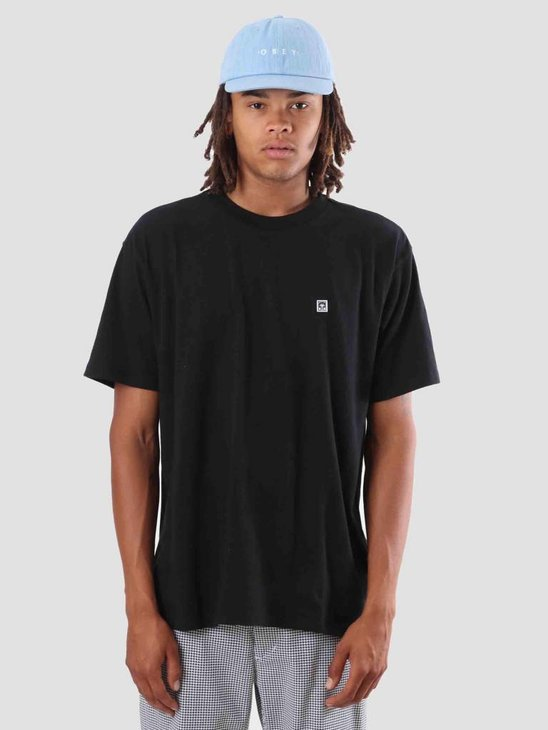 Obey Eighty Nine Solid Box T-Shirt Black 131080226