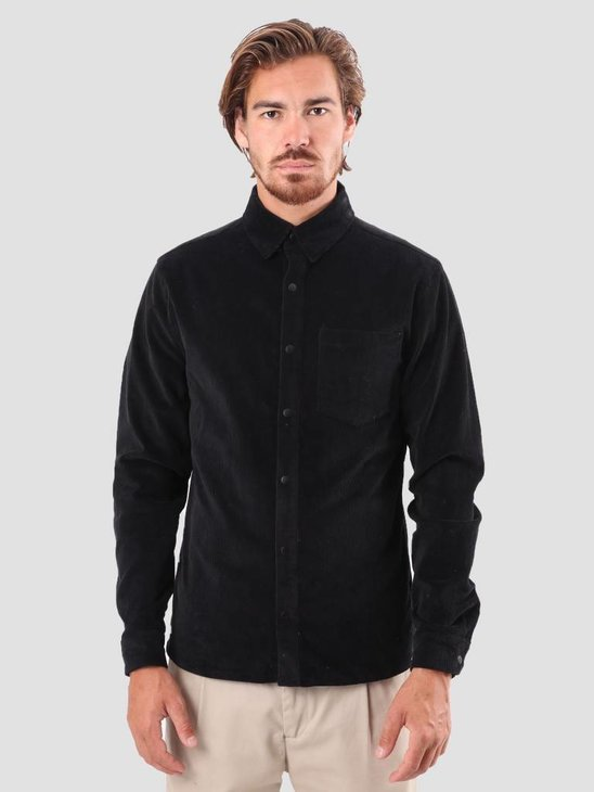 RVLT Eik Shirt Black 3639