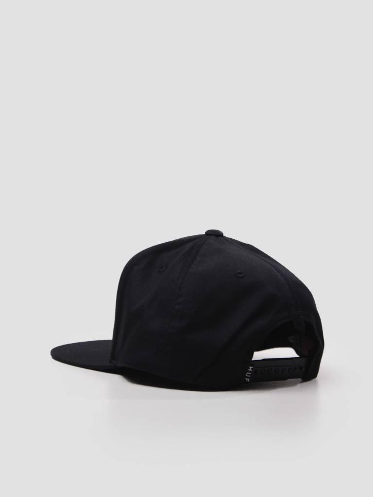 HUF HUF Essentails Box Snapback Hat Black HT00300