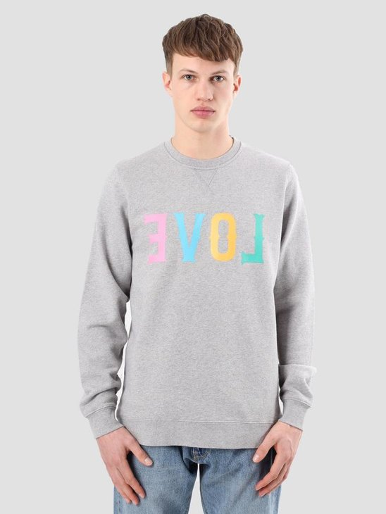 Ceizer Evol Print Crewneck Heather Grey S18-65
