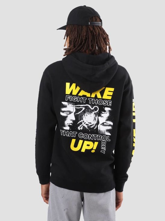 Obey Fight Those That Control Hoodie Black 111731812