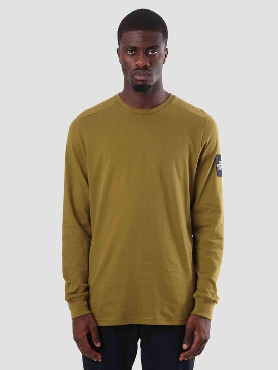 The North Face Fine Crew Sweat Fir Green