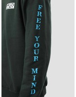 Obey Obey Free Your Mind Crew Forest Green 114981793