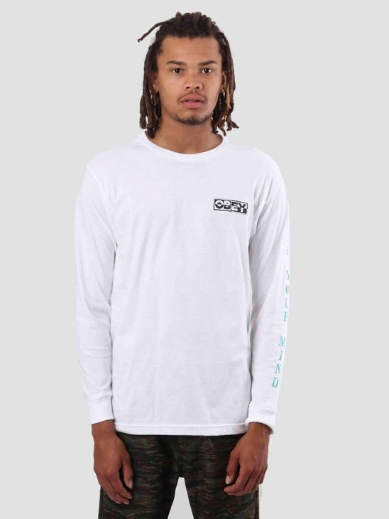 Obey Free Your Mind Longsleeve White 164901793