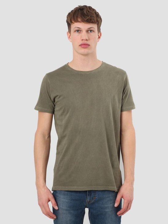 RVLT Garment Dyed T-Shirt Army 1006